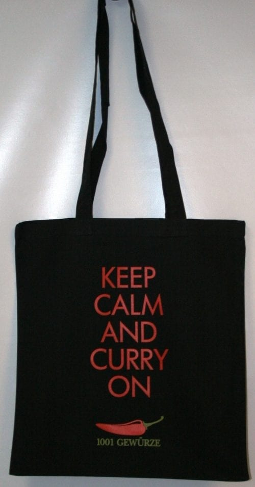 Beutel Keep Calm and Curry on